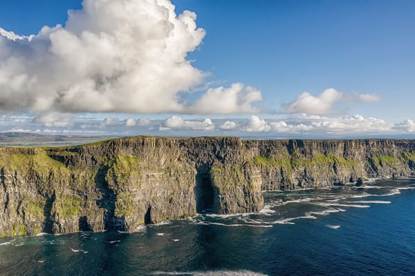 Cliffs Of Moher Drone Art | Michael Blanchard Inspirational Photography - Crossroads Gallery