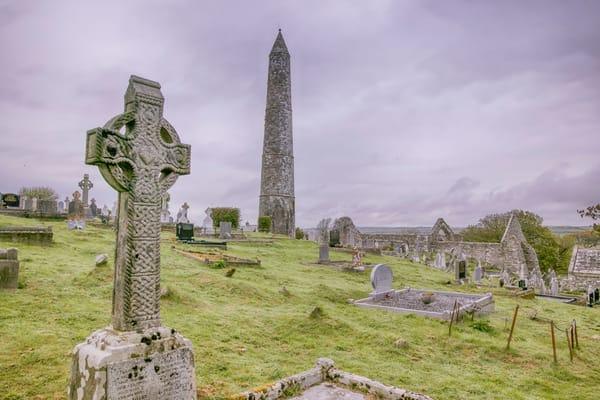 Irish Monastic Ruins Art | Michael Blanchard Inspirational Photography - Crossroads Gallery