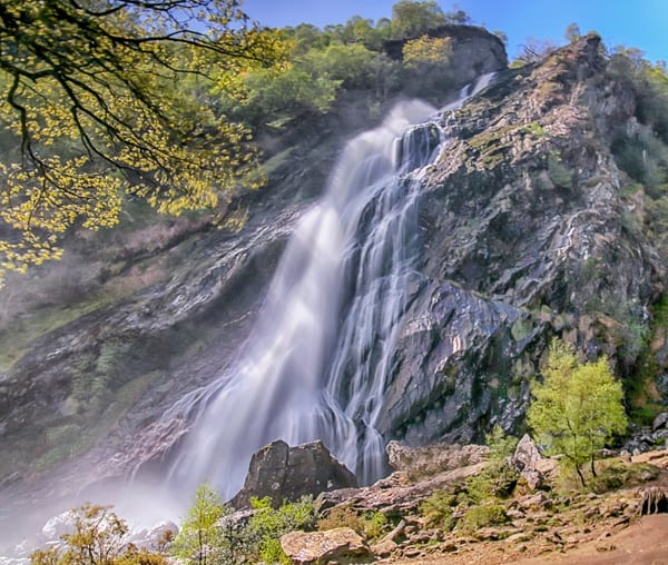 Powerscourt Waterfall Art | Michael Blanchard Inspirational Photography - Crossroads Gallery