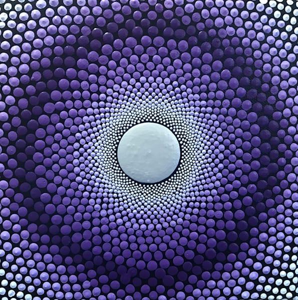 Purple Vortex Painting