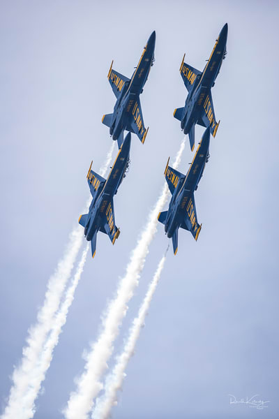 Blast Off of the Blue Angels