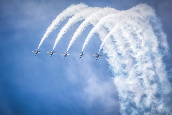 The Arc of the Blue Angels