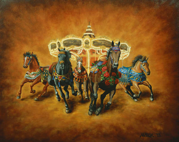 Carousel Escape Fine Art Prints