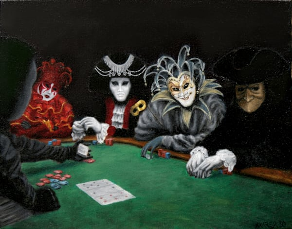 Poker Face Fine Art Prints
