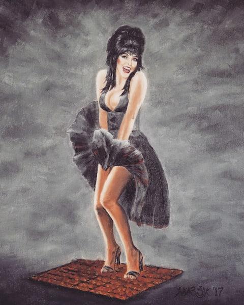 Mistress of the Dark Fine Art Prints