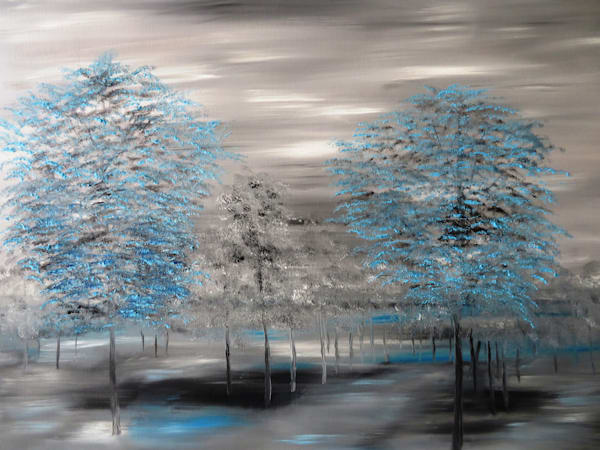 A Touch Of Blue Art | Artist Ron Turner