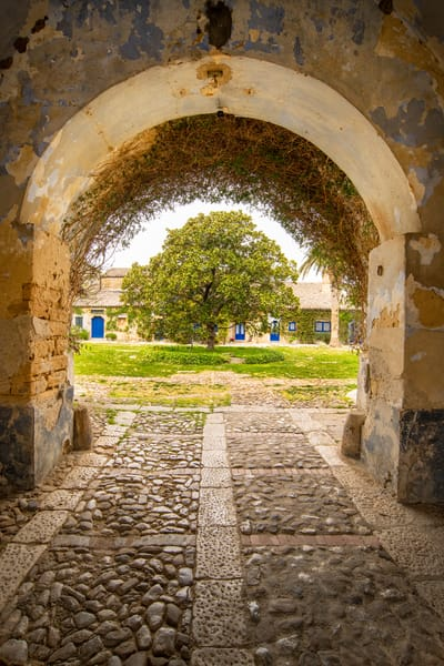 Courtyard Entrance | Jim Parkin Fine Art Photography