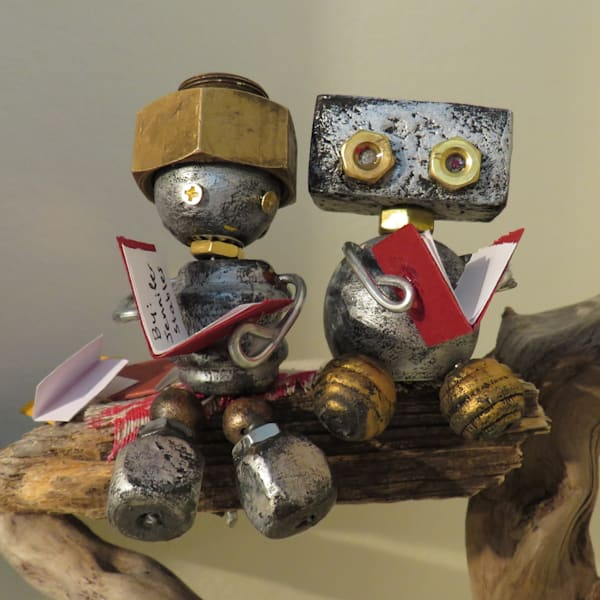 Bolts Assemblage Art Class | Jenny Dale Designs