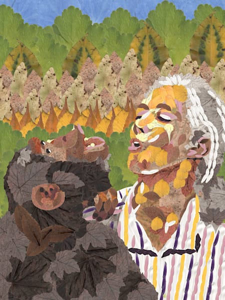 Jane Goodall Art   smacartist