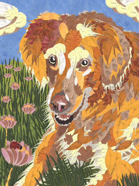 Golden Retriever Art | smacartist