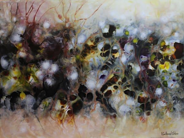 Cathartic I, an original acrylic on panel by Kim Howes Zabbia