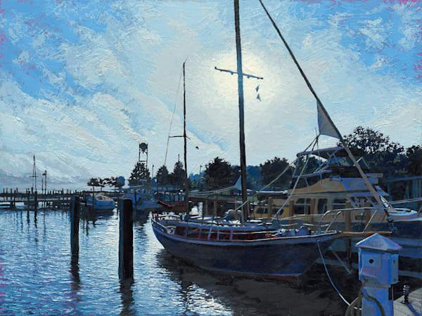 Herald of Dusk     Original Oil Painting     Justin David Gustafson Fine Art