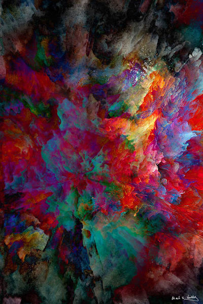TX, abstract, art, color, explosion, balance