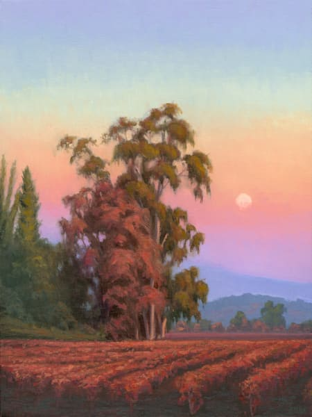 Autumn Moonrise Art | Terry Sauve Fine Art