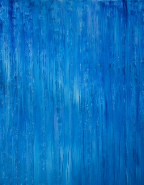 Where Stormy Seas Meet Stormy Skies Original Oil Painting by Rachel Brask 24x30