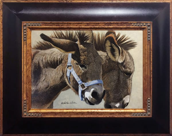 Frontera Brothers Donkey Tucson Art Original Paintings