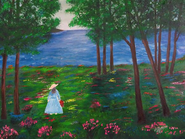 Path Of Flowers Art | Artist Ron Turner