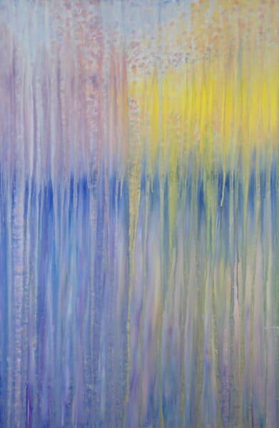 Sunset Rain Over Harrington Bay Maine Original Oil Painting By Rachel Brask 24x36in Art | Rachel Brask Studio, LLC