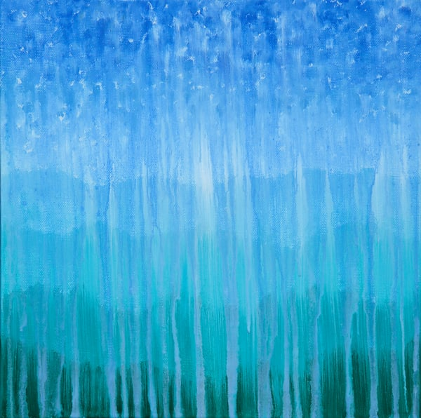 Forested Mountain Rain Ii Art | Rachel Brask Studio, LLC
