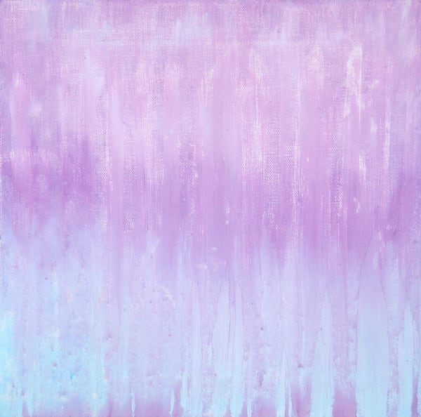 Lighter Side Of Sunset Rain Ii By Rachel Brask Art | Rachel Brask Studio, LLC