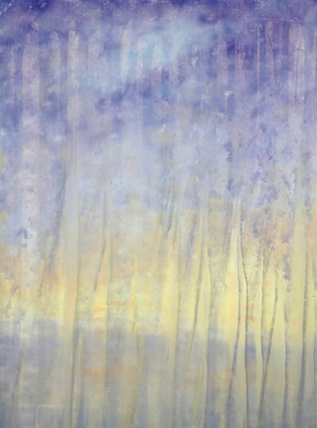 Sun Rain Transition 2 Original Oil Painting by Rachel Brask
