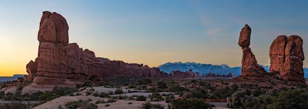 Sunrise at Balance Rock
