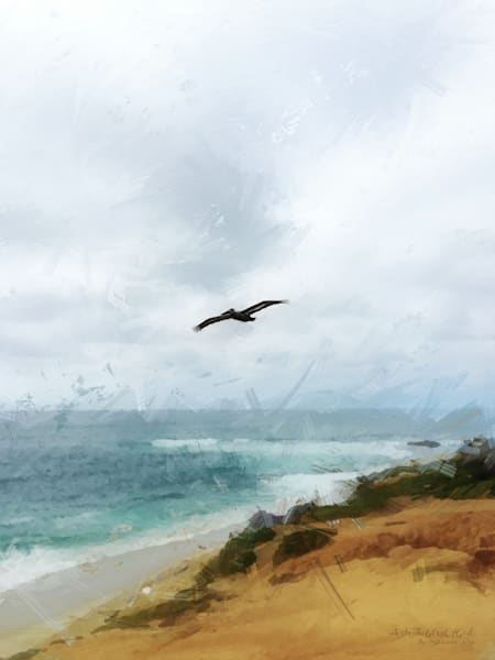 """Hope of Everlasting Life..."" - digital painting photograph"