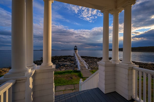 View From The Light Keeper's House by Rick Berk