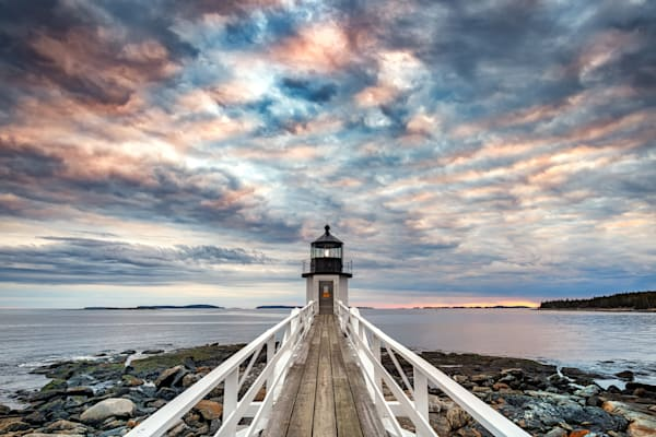Cloudy Evening at Marshall Point by Rick Berk