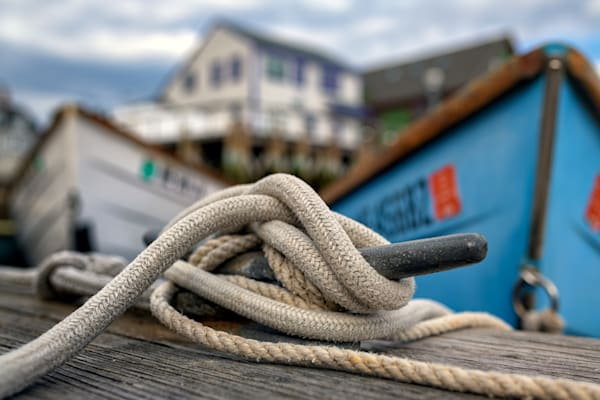 The Docks at Port Clyde by Rick Berk