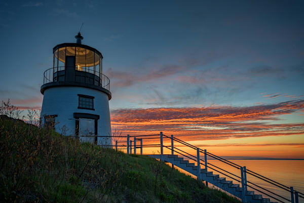 Morning Glow at Owls Head Lighthouse