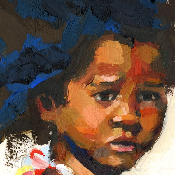 Fine Art Print: Korsou Girl