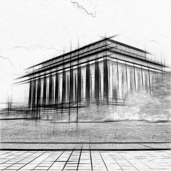 Lincoln Sketch