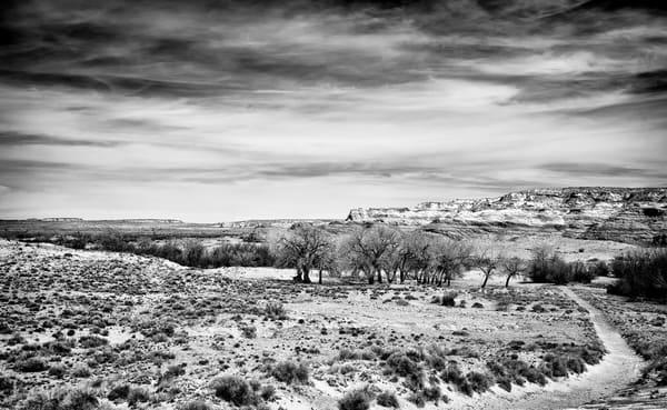 Navajo Nation Northern Arizona black and white print.