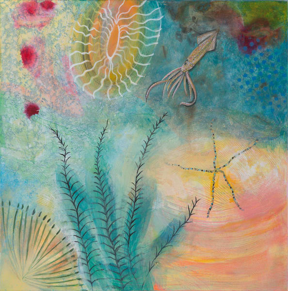 Brittlestar Underwater Art | Debbie Dicker - Art