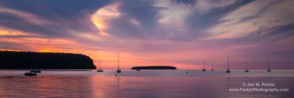 Sailboats at Sunset | Jim Parkin Fine Art Photography