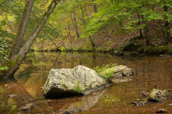 Lake Catherine Stream Photograph 0048  | Water Photography | Koral Martin Fine Art Photography