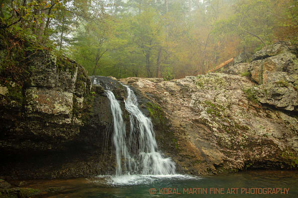 Lake Catherine Falls Photograph 0207  | Waterfall Photography | Koral Martin Fine Art Photography
