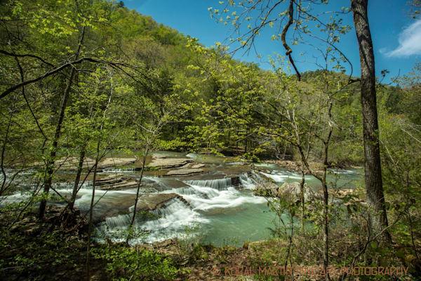 Six Finger Falls in Arkansas  Photograph 0500  | Waterfall Photography | Koral Martin Fine Art Photography