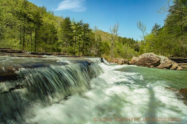 Six Finger Falls in Arkansas 9973 | Waterfall Photography | Koral Martin Fine Art Photography