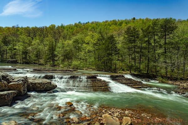 Six Finger Falls in Arkansas 9912    Photography   Koral Martin Fine Art Photography