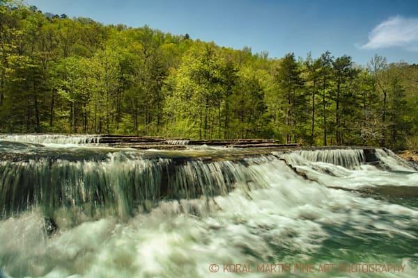 Six Finger Falls in Arkansas 9977    Photography   Koral Martin Fine Art Photography