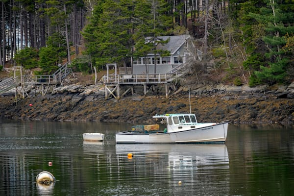 At Anchor in Back Cove