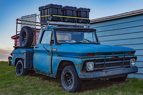 Admirals Blue Truck - Limited Edition - Fine Art Photography