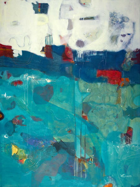 Swim In The Sea Art | Wendy Givens Art