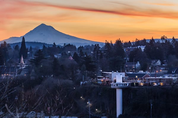 Oregon City & Mt Hood