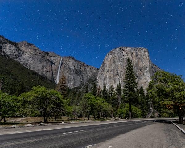 El Cap at night