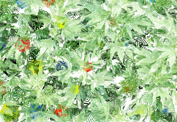 Mary Jane-008 Cannabis Art