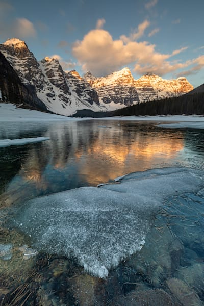 Moraine Lake Ice Photography Art | Will Nourse Photography