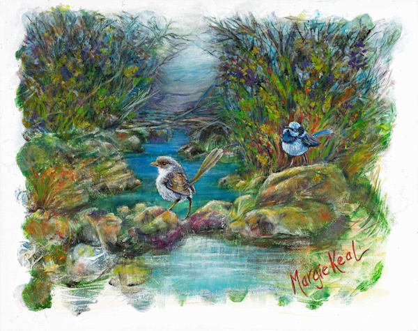Superb Fairy Wrens Commitment